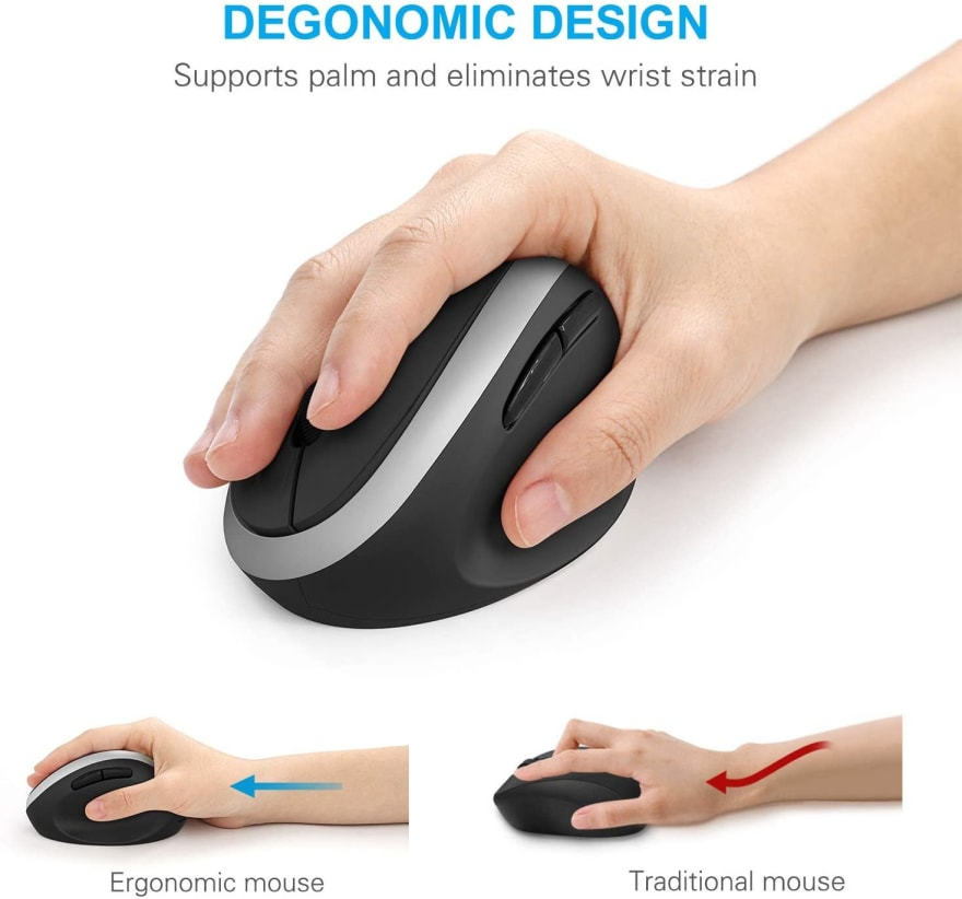 Picture of an ergonomic mouse for small hands