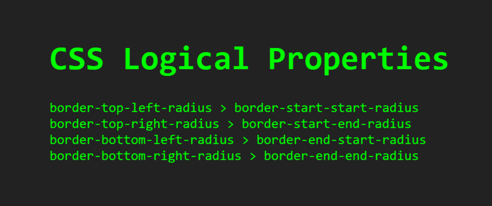 Cover image for A Quick Guide To CSS Logical Properties