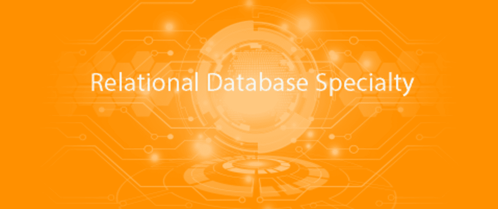 Cover image for Relational Database Specialty