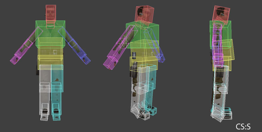 hitboxes in counter-strike