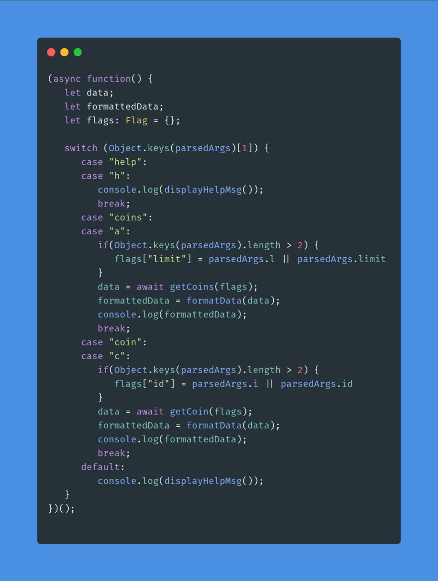 code sample five