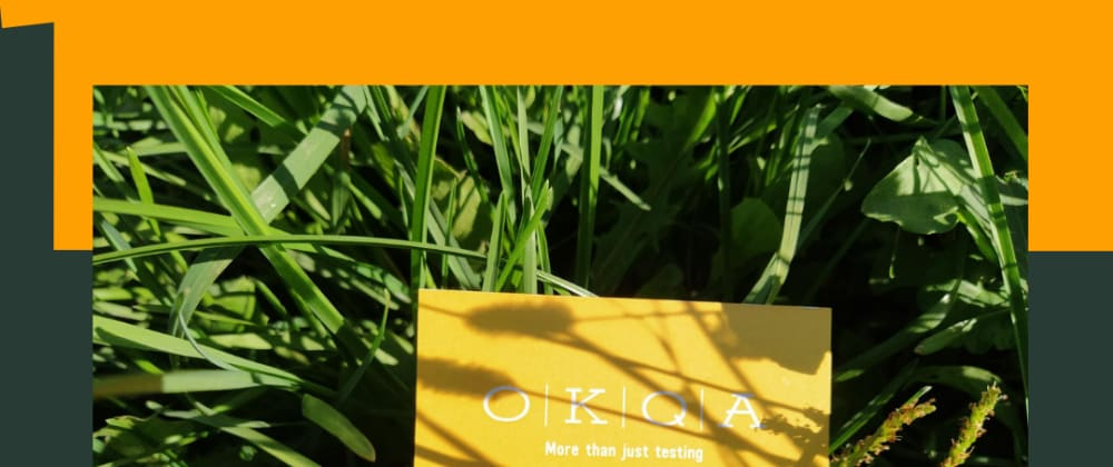 Cover image for We at OKQA offer more than just testing.