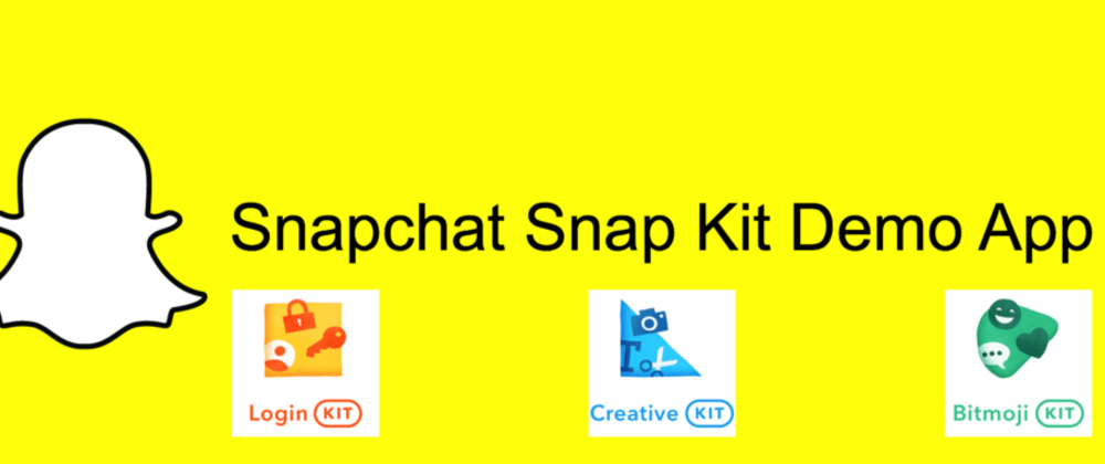 Cover image for Snapchat Snap Kit SDK Tutorial for iOS Swift