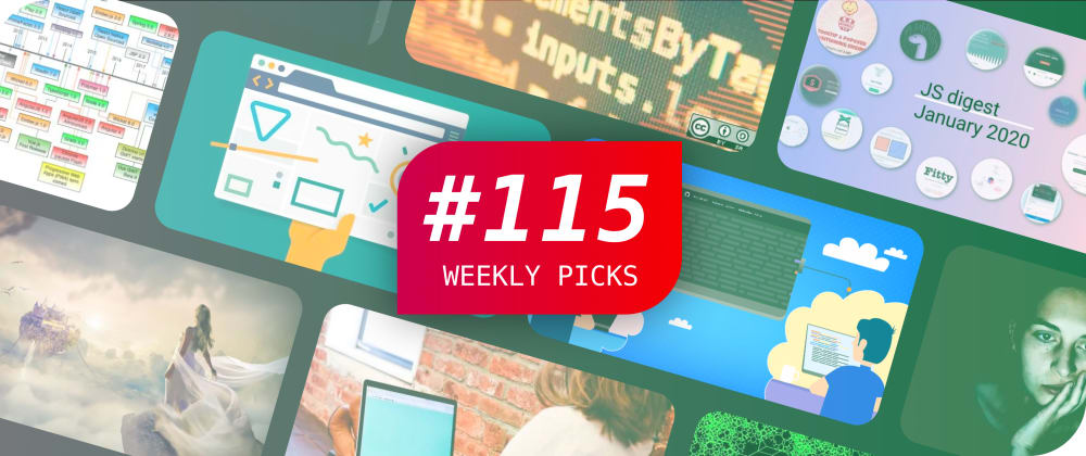 Cover image for 🎨 Micro Frontends, Chrome 80, JavaScript, DevPad and More — Weekly Picks #115