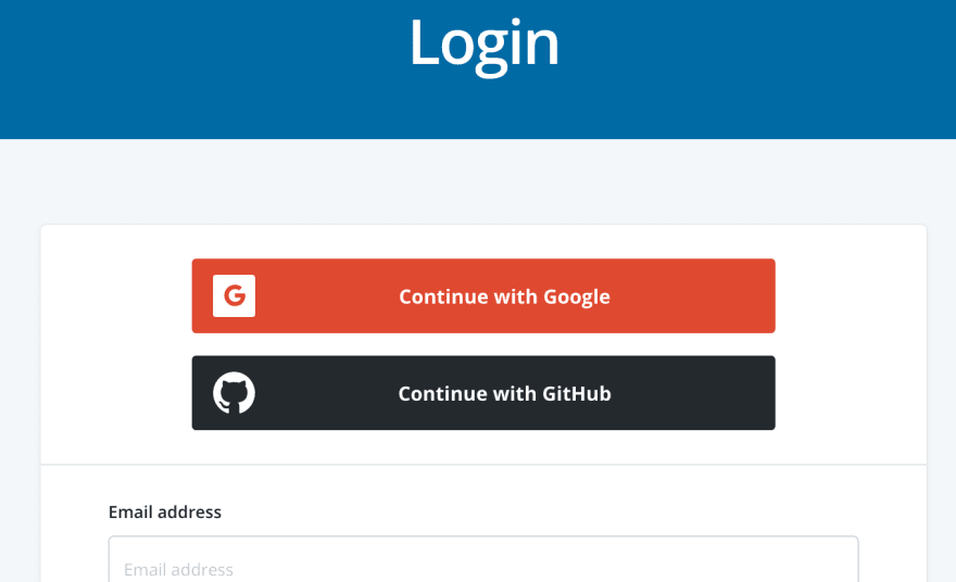 Continue with Github