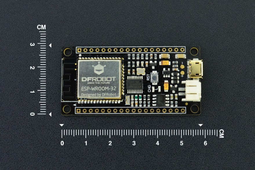 ESP32 FireBeetle device from https://core-electronics.com.au/