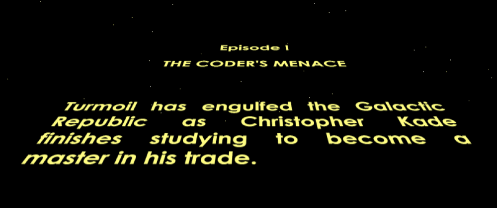 Cover image for Developing the Star Wars opening crawl in HTML/CSS