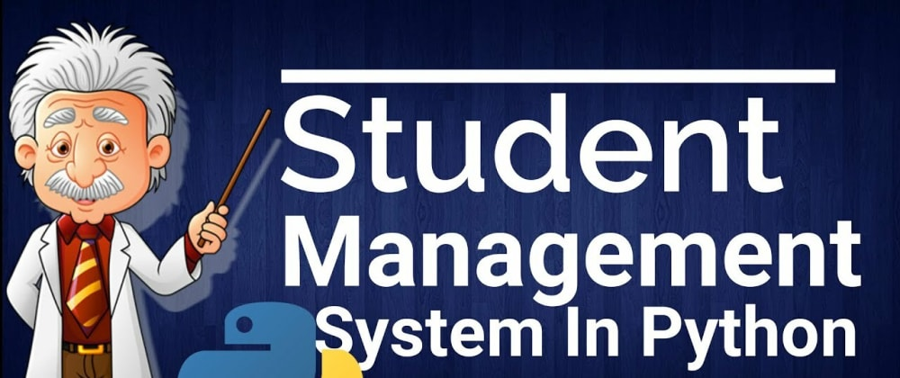 Cover image for Basic Student Information System In Django with source code