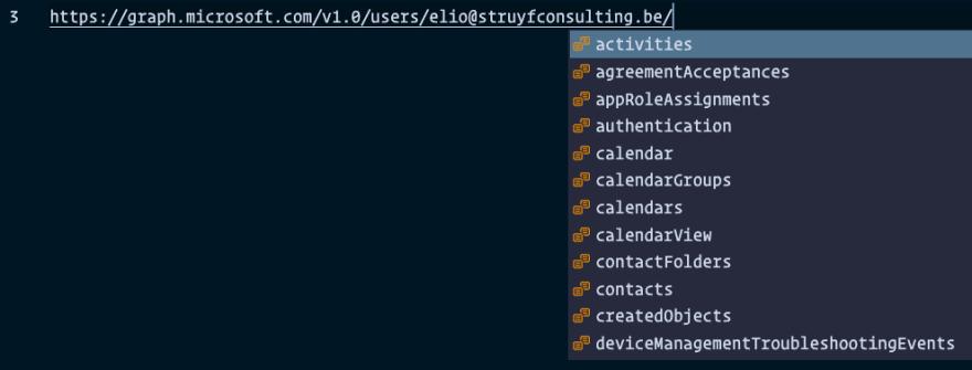 Retrieving API paths for users