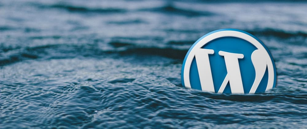 Cover image for Why wordpress?