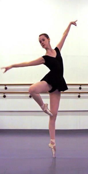 Me at Joffrey Ballet School