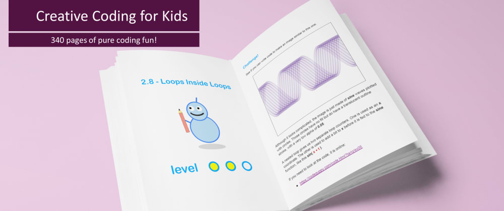 Cover image for Free book: Creative Coding for Kids