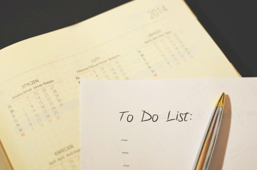 To do list stop procarastination