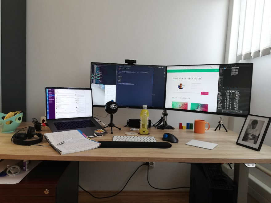 Workstation in my office.