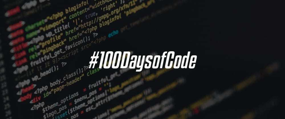 Cover image for 100 days of code — Dia 6