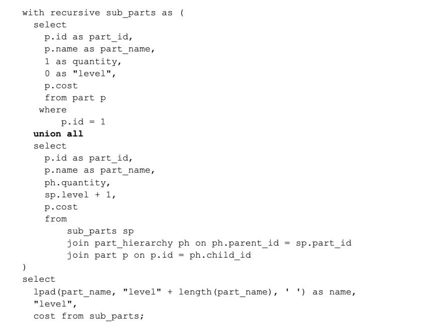 A journey down recursive CTEs.