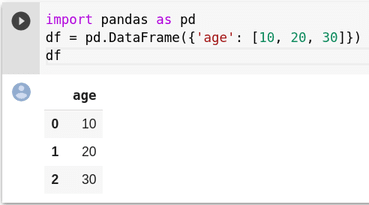 Regular pandas dataframe output