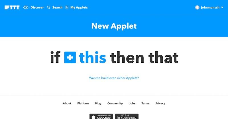 Make an Applet