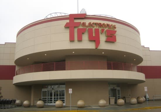 image of a Fry's storefront
