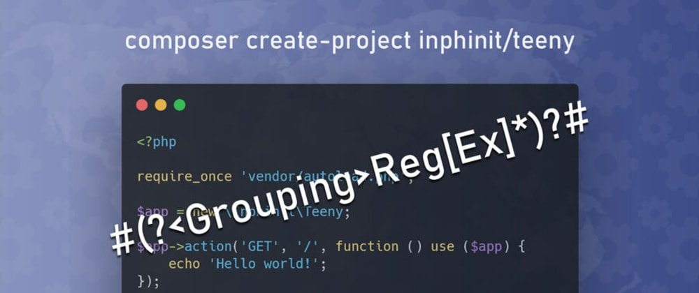 Cover image for Improving the regex in route patterns (Teeny PHP route system)