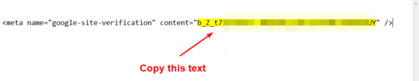 you paste this code to somewhere like Notepad and copy the text string as I marked yellow