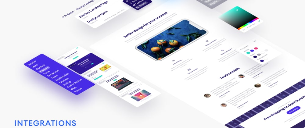 Cover image for Startup's Online Editor is Here - A Bootstrap Builder
