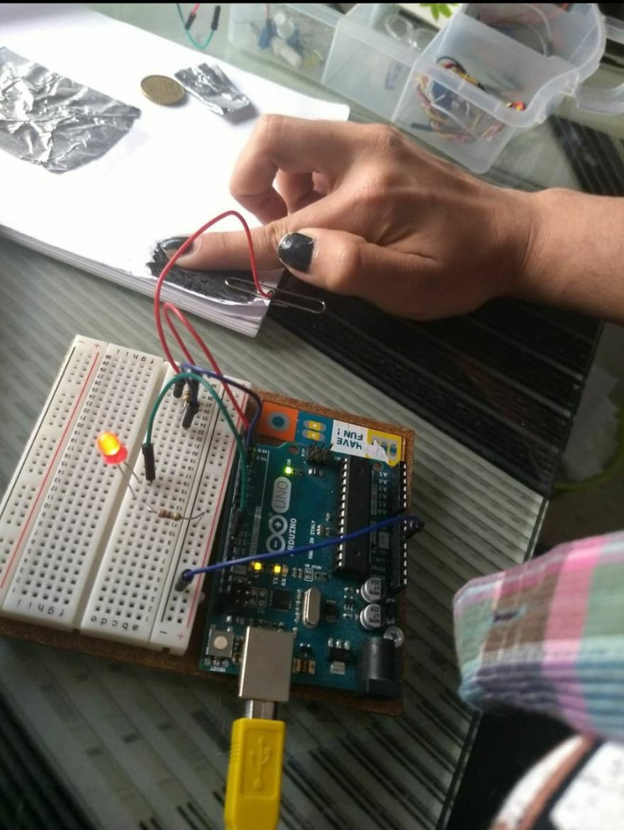Creating an interactive drawing with arduino - DEV Community ...