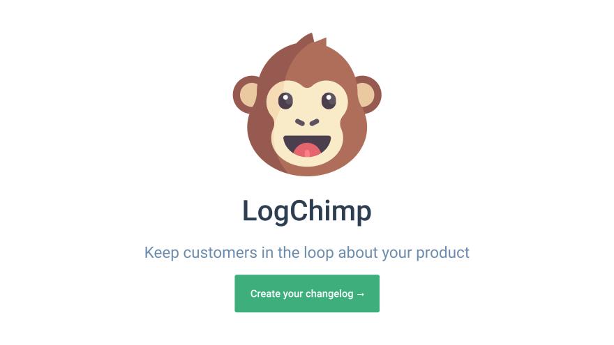 LogChimp website screenshot