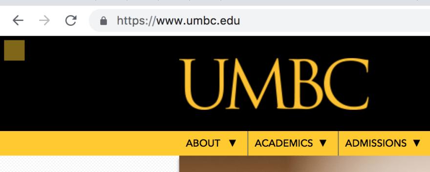 UMBC Homepage