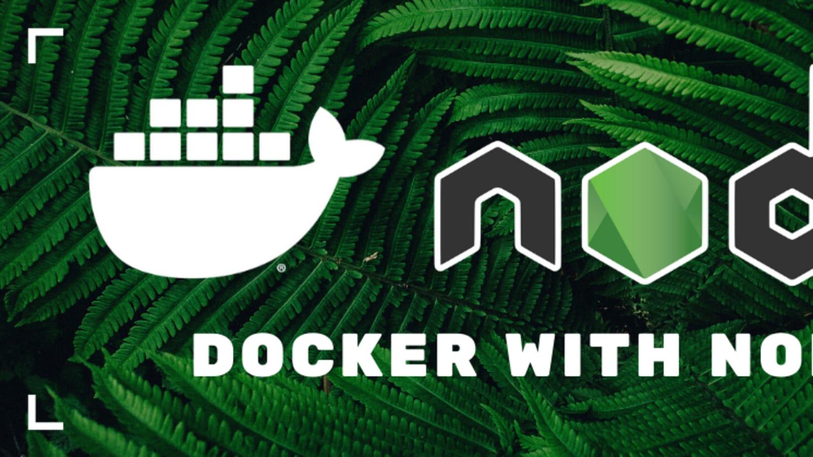 A Simple Node Js Docker Workflow Dev Community