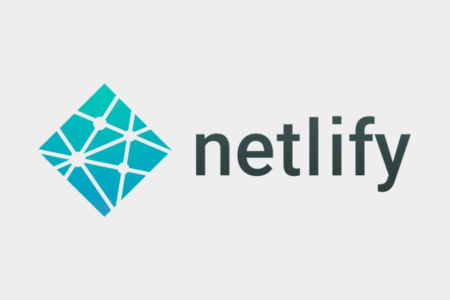 A banner containing Netlify logo