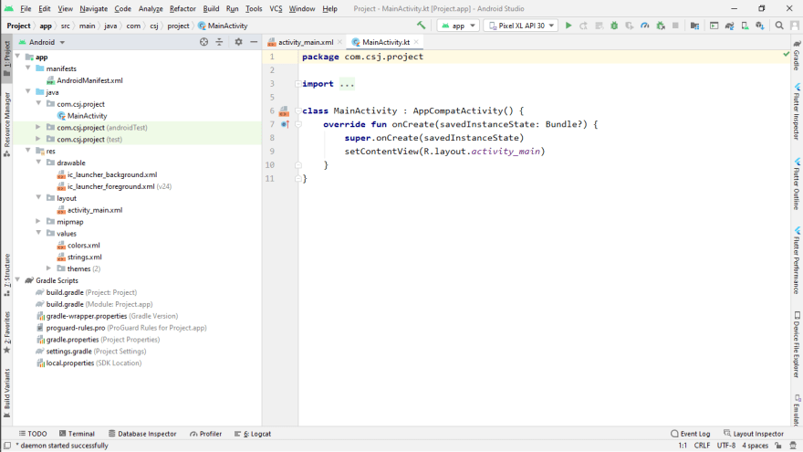 Exploring the Android Studio