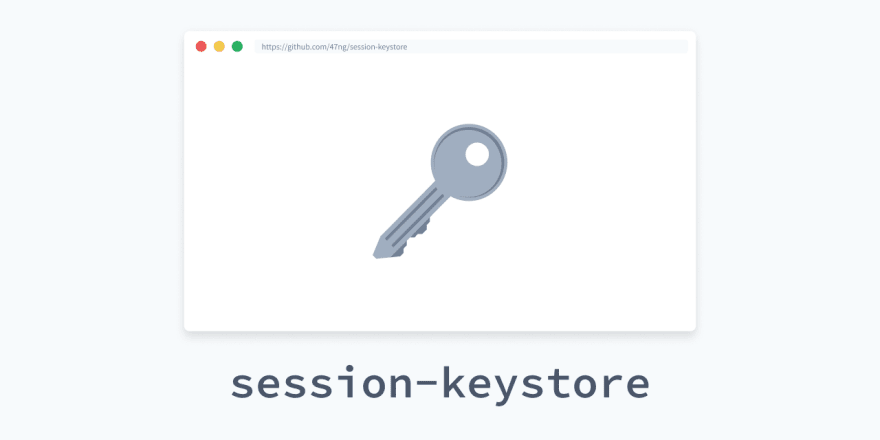 https://github.com/47ng/session-keystore