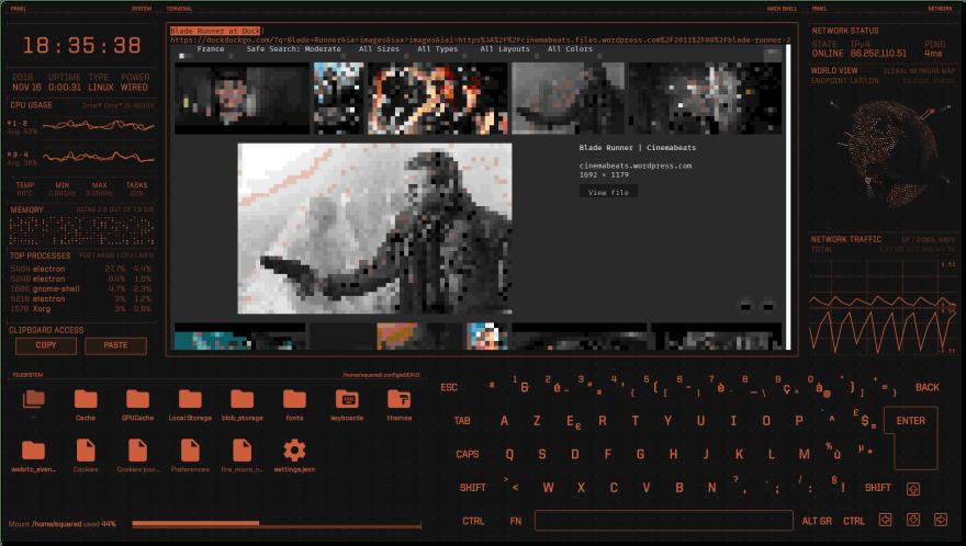 Blade screenshot