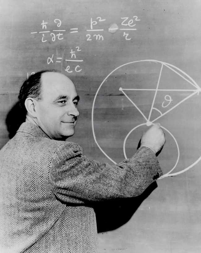 Pic of Enrico Fermi doing some math. May or may not be ML-related. Looks hard. Photo by Science in HD on https://unsplash.com/photos/aYxQrt5J6jM