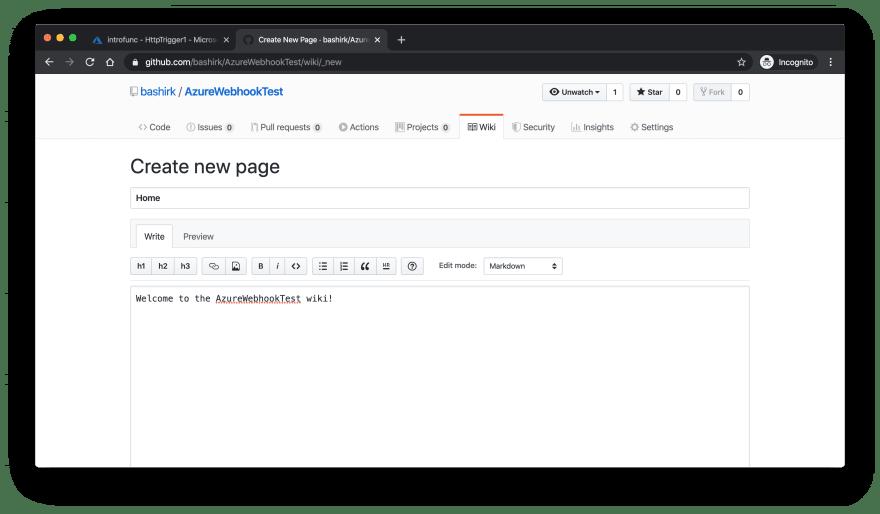 Create a Wiki