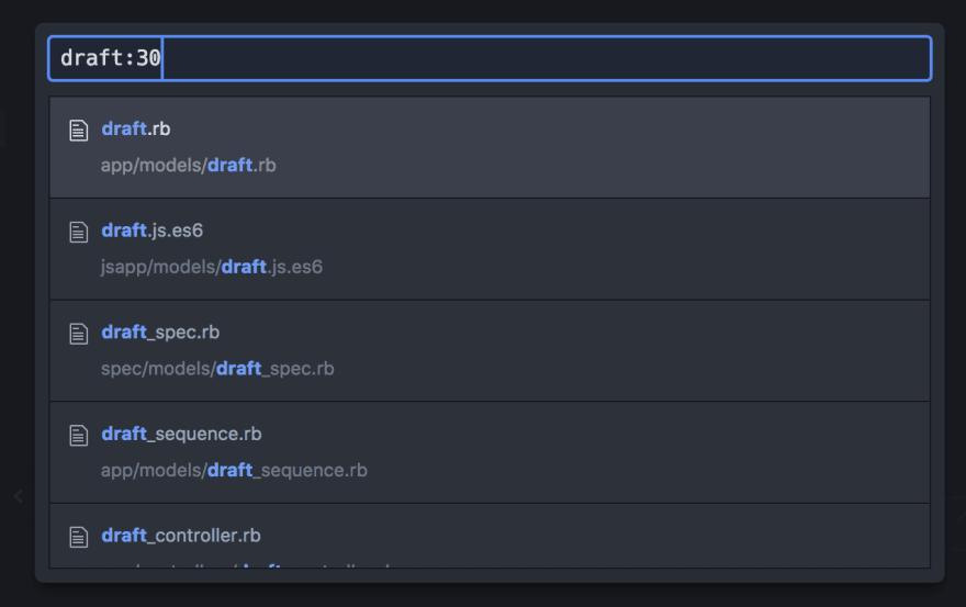 Find File in Atom