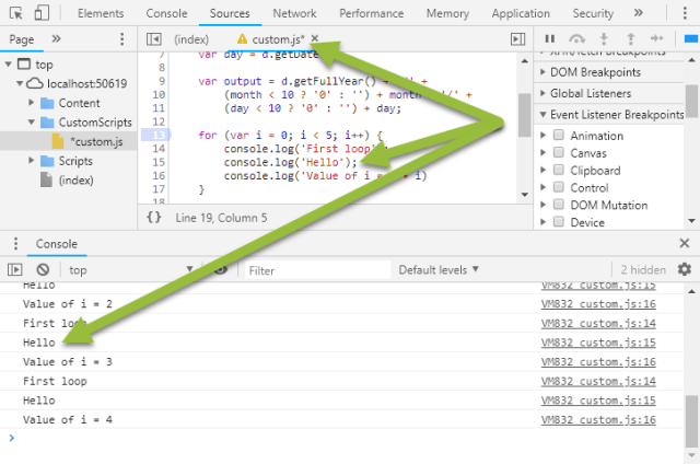 Edit code in Chrome Dev Tools