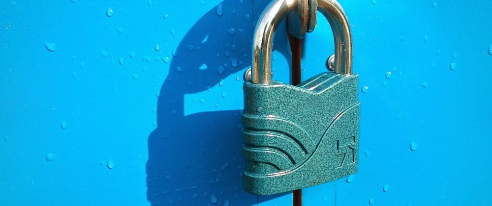 Cover image for Simple MVC Security in ASP.NET | Blog Security pt. 1: Locking it down