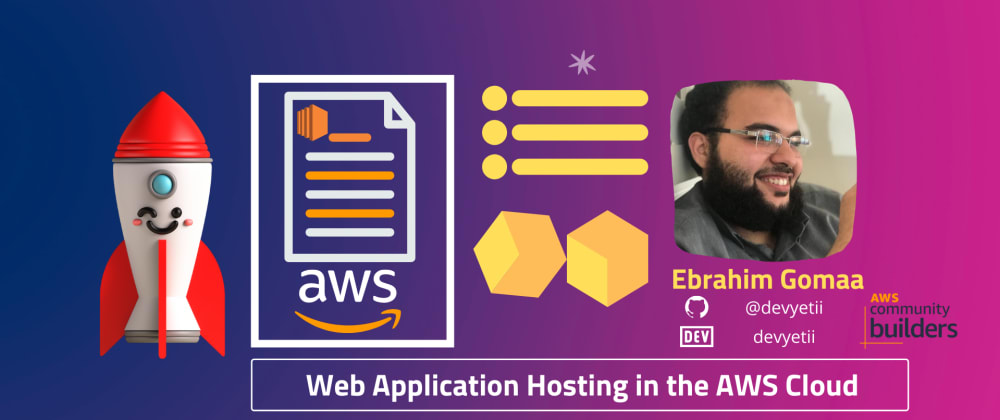 Cover image for Web Application Hosting in the AWS Cloud