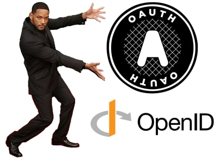 Will Smith pointing out that Open ID and OAuth strategies are right there