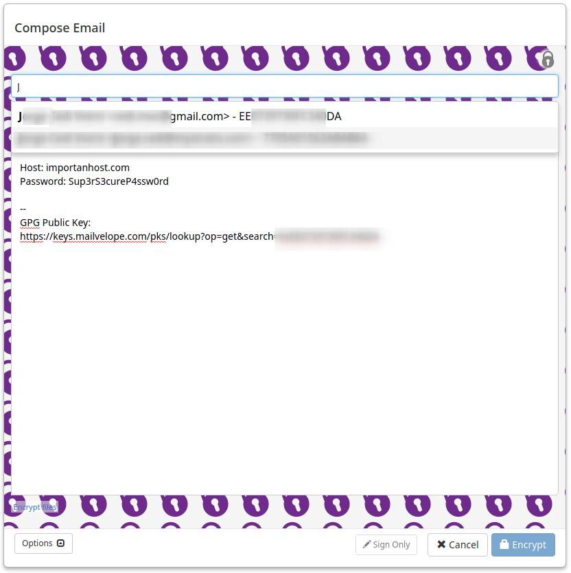 Mailvelope 3