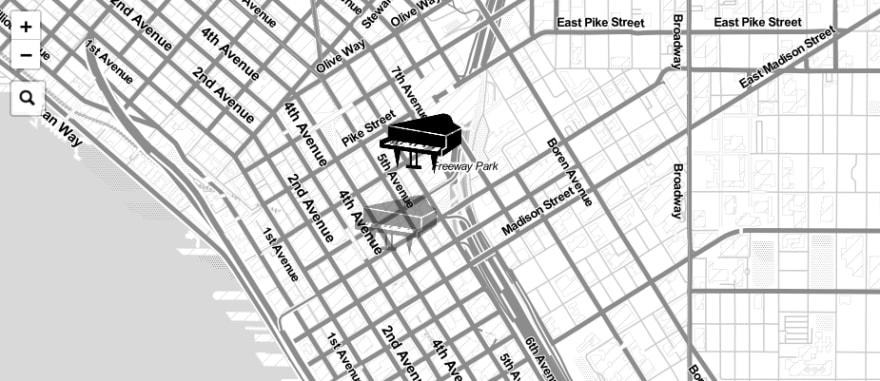 Pianos for Travelers website