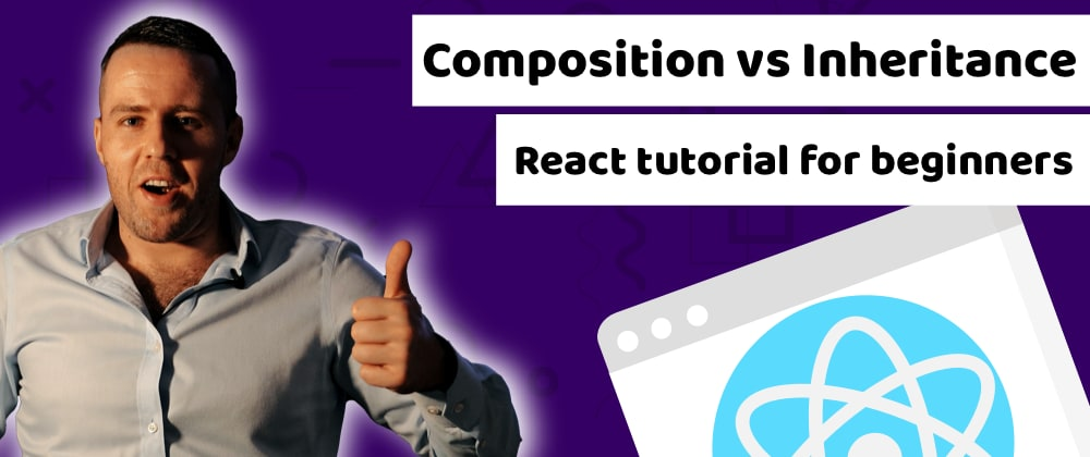 Cover image for You must know the difference to avoid headaches and be a better developer! Composition vs Inheritance in React - By Duomly
