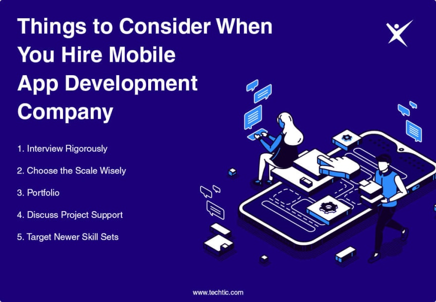Things to Consider When You Hire Mobile App Development Company