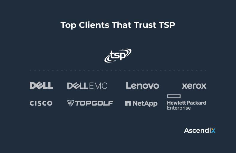 Top Clients That Trust TSP