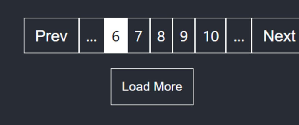 Cover image for Create Pagination component from scratch in ReactJS