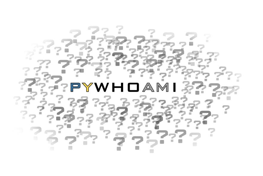 pywhoami logo