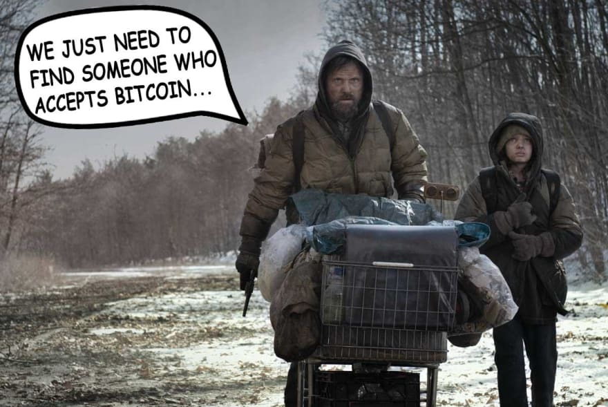 When society collapses, will I be able to use Bitcoin?