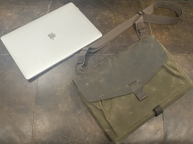 Outback Solo and MacBook Pro 16""